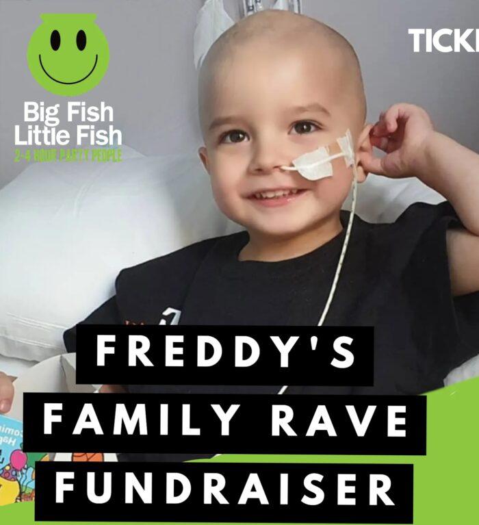 Freddy's Family Rave Fundraiser